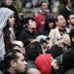 "<span itemprop=""name"">Crowd Chanting with Girl</span>"